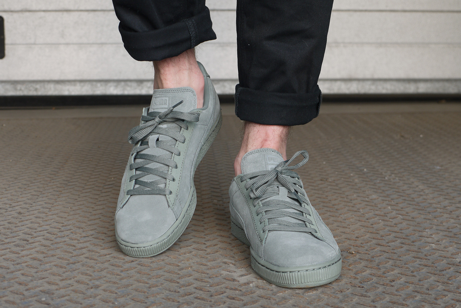 Puma Suede Classic Tonal agave green | Alleyoop