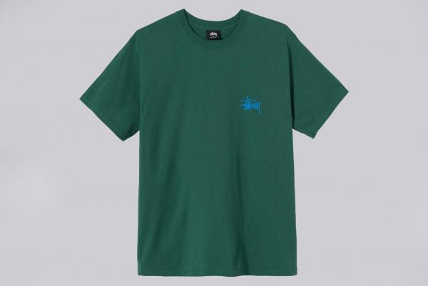 Stussy Basic T-Shirt grün