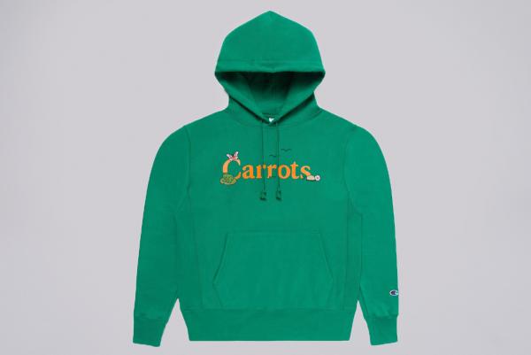 Carrots x Freddie Gibbs Yard Hoodie green