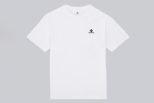 Converse Embroidered Star Chevron Tee white