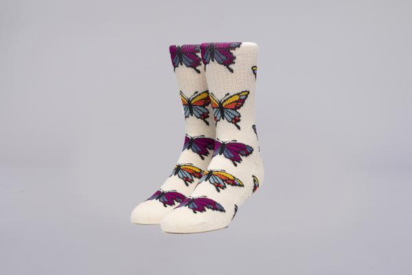 Huf Papillion Socks unbleached