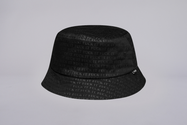 Huf Fuck it Biúcket Hat black white