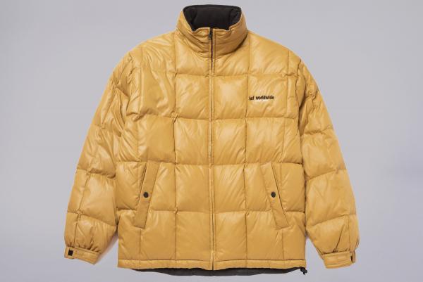 Huf Glacier Puffer Jacket camel
