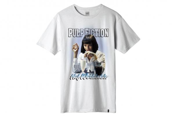 Huf x Pulp Fiction Mia Airbrush Tee white