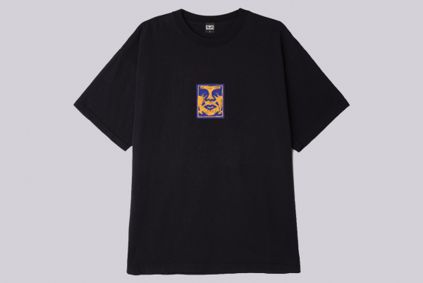 Obey Scetchy Face T-Shirt schwarz