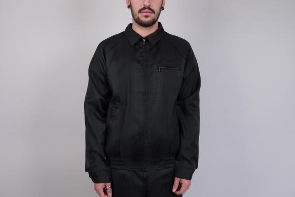 Stussy Tonal Snake Jacket black