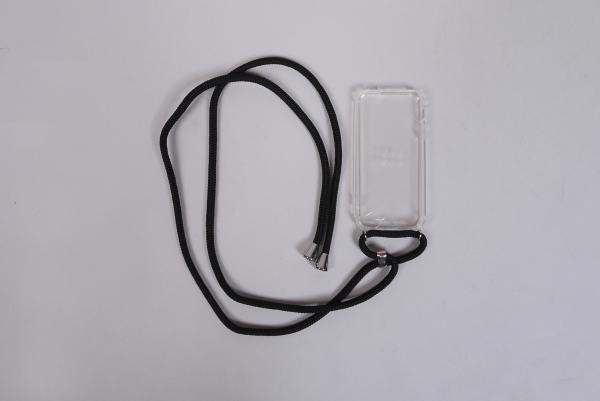 XOUXOU Handykette black/silver