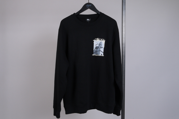 Stussy Emperor Crewneck Sweater black