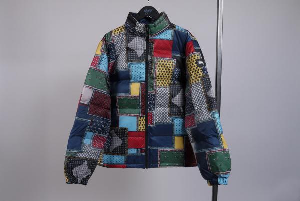 Stussy Puffer Jacket multi