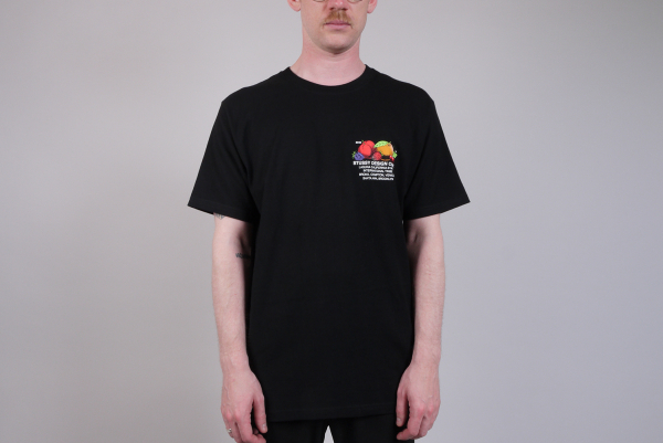Stussy Fresh Fruit Tee black