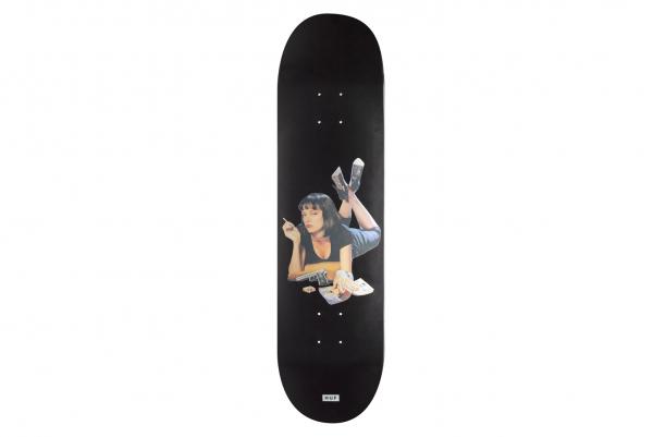 Huf x Pulp Fiction Skate Deck black