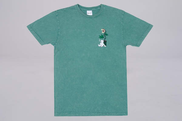 Rip n Dip Herb Eater Tee green mineral wash