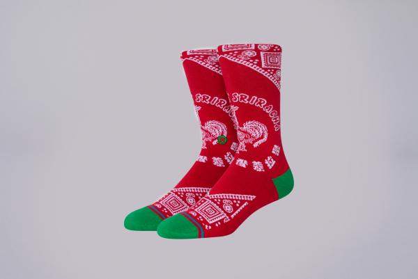 Stance Sriracha Socks rot
