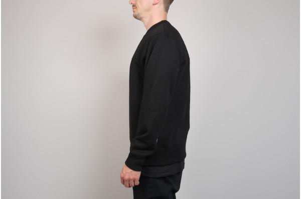 Stitched Crewneck Sweater