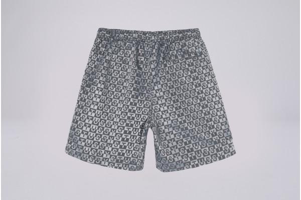 Check Nylon Short