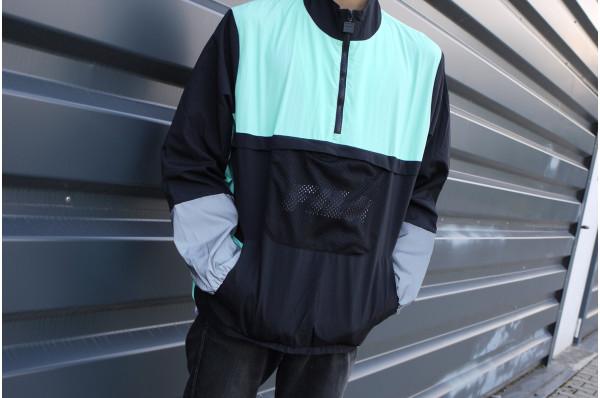 Tyler Black Line 1/4 Zip Jacket
