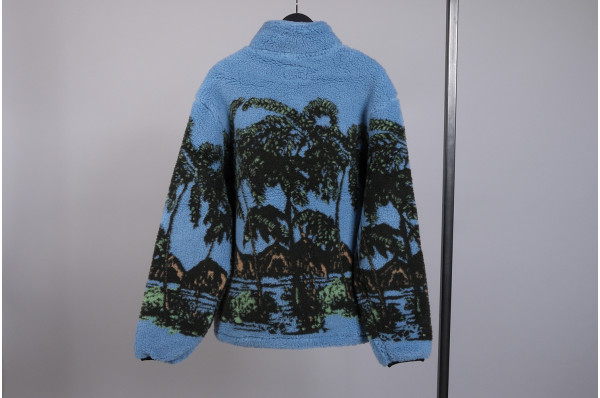 Hawaiian Jacquard Mock Jacket