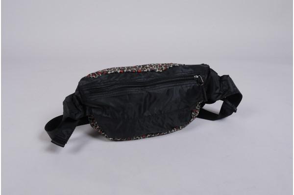 Göteborg AOP Light Weight Leopard Waist Bag