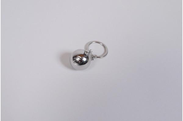 Metal 8 Ball Keychain