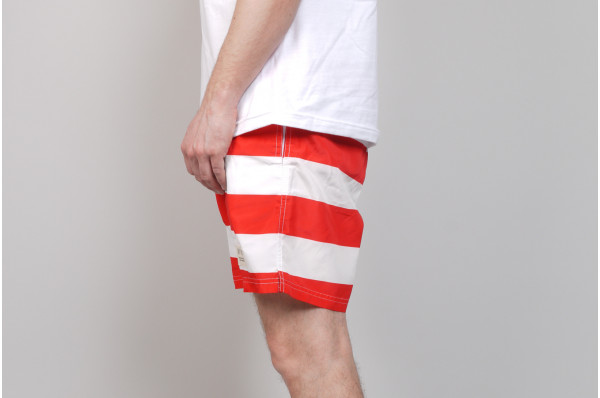 Red Stripe Short