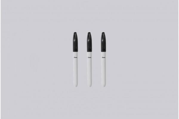 Black Lines Marker Set (3-Pack)