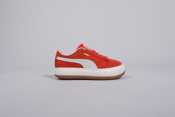 Puma Suede Mayu UP Damen Sneaker rot