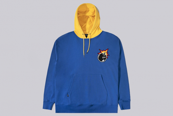 The Hundreds Campus Hood blue