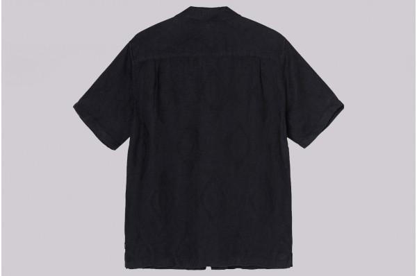 Diamond Jaquard Linen Shirt
